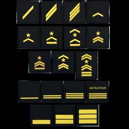Grades PVC jaune