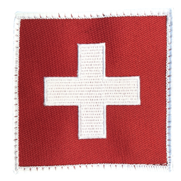 Badge carré SUISSE