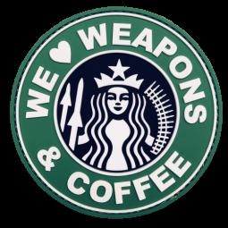 Abzeichen WEAPONS & COFFEE