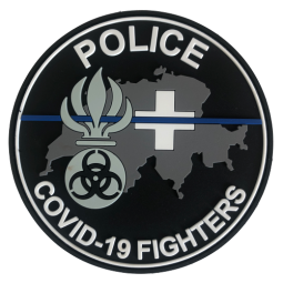 Badge COVID CH