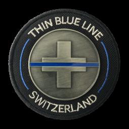 """Iron Abzeichen """"Thin Blue..."""