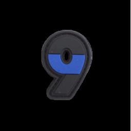"Badge 9 ""Thin Blue Line"""