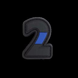 """Abzeichen 2 """"Thin Blue Line"""""""