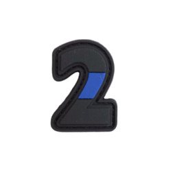 "Badge 2 ""Thin Blue Line"""