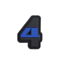 """Abzeichen 4 """"Thin Blue Line"""""""