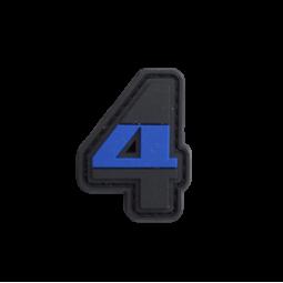 "Badge 4 ""Thin Blue Line"""