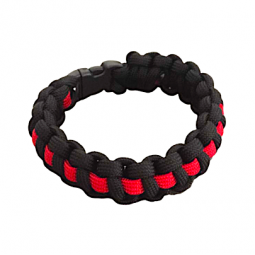 "Armband Kobra ""Thin Red Line"""