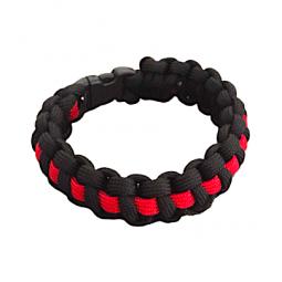 "Bracelet Cobra ""Thin Red Line"""