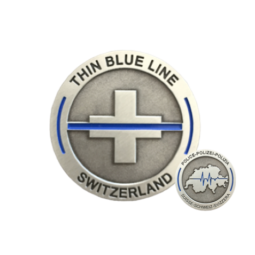 "Coin ""Thin Blue Line..."