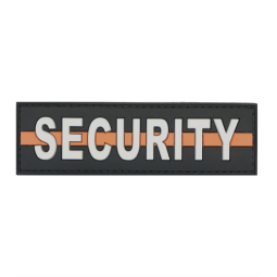 "Badge SECURITY ""Thin Orange..."