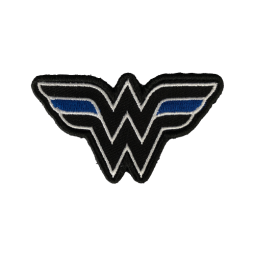 "Badge Wonder Woman ""Thin..."