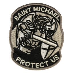 Badge St-Michael Protect Us