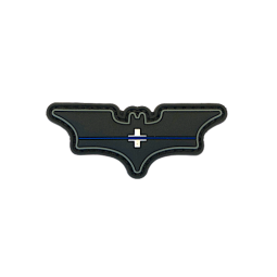 "Batman Abzeichen ""Thin Blue..."