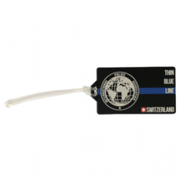 Luggage tag IPA - Thin Blue...