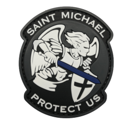 Badge St-Michael Protect Us...