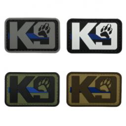 """Abzeichen K9 """"Thin Blue Line"""""""