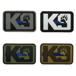 "Badge K9 ""Thin Blue Line"""