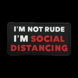 Abzeichen SOCIAL DISTANCING