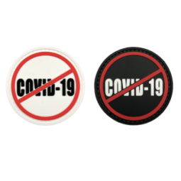 Badge STOP COVID-19