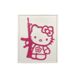 Abzeichen Hello Kitty Gun