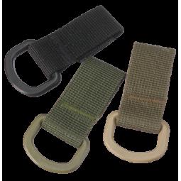 Velcro D-Ring Schnalle
