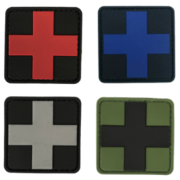 Badge Medic Cross - 5x5 cm