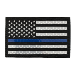 "Badge IR ""Thin Blue Line USA"""