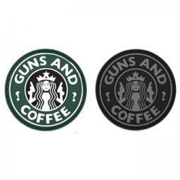 Abzeichen GUNS & COFFEE