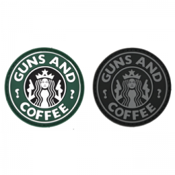 Badge GUNS & COFFEE