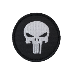 Badge PUNISHER rond