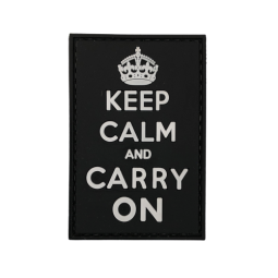 Abzeichen KEEP CALM & CARRY ON