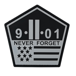Badge 9.11 NEVER FORGET