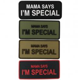 Abzeichen PVC Mama says...