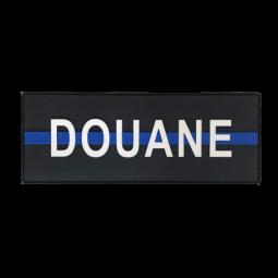 "Bande dorsale DOUANE ""Thin..."