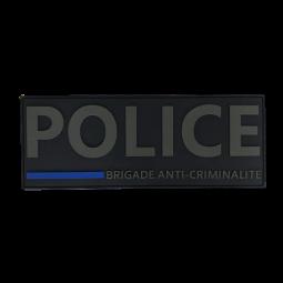 Bande dorsale POLICE BAC...