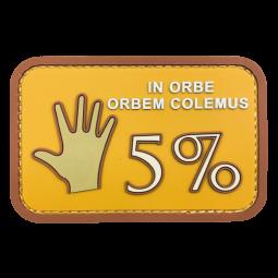 Abzeichen 5%