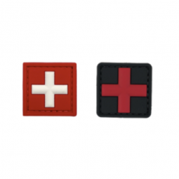Badge Medic Cross - 3x3 cm