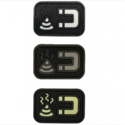 Abzeichen SHIT MAGNET - PVC