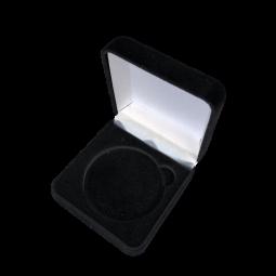 Boite en velours - Coin 5 cm