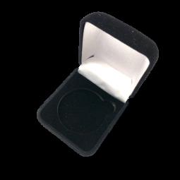 Boite en velours - Coin 4 cm