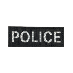 Badge POLICE IR