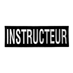 Bande dorsale INSTRUCTEUR