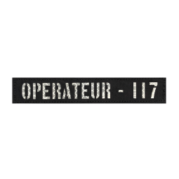 Badge OPERATEUR 117 IR