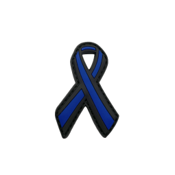 "Badge Ruban ""Thin Blue Line"""