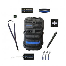 "Pack TRAVEL ""Thin Blue Line..."