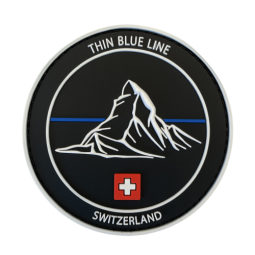 "Badge Cervin ""Thin Blue..."