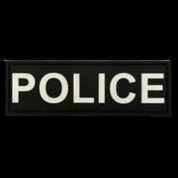 Abzeichen POLICE - Schwarz