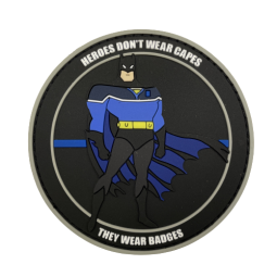 """Badge BATMAN """"Thin Blue Line"""""""