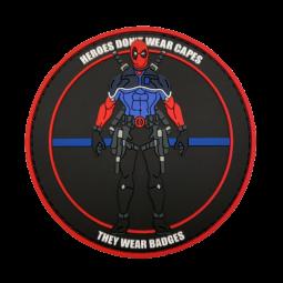 "Badge DEADPOOL ""Thin Blue..."