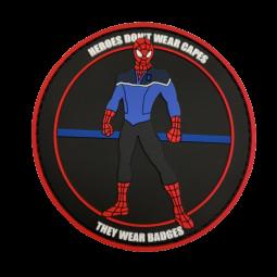 "Badge SPIDERMAN ""Thin Blue..."